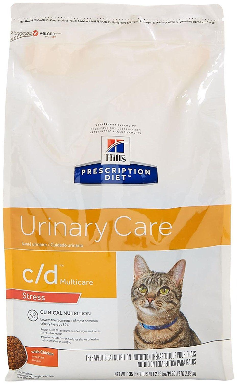 Hill S Prescription Diet C D Multicare Feline Stress Urinary Care Chicken 6 35lb You Can Get More Details Here Dry Cat Food Best Cat Food Cat Nutrition
