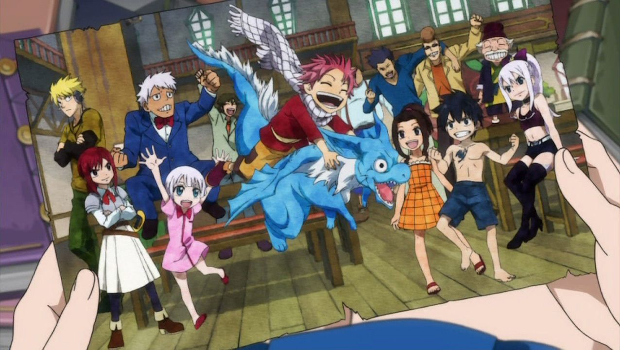 Fairy Tail Fantasy Anime