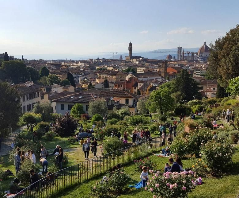 The Rose Garden In Florence Florence Travel