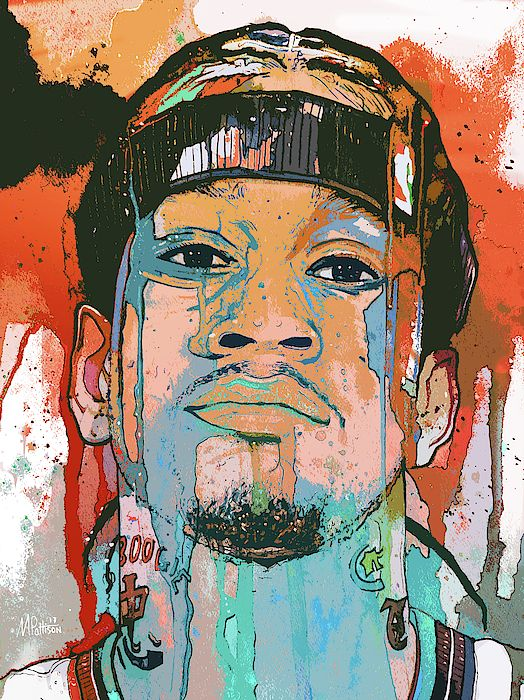 Allen Iverson The Answer by Michael Pattison   Basketball ...