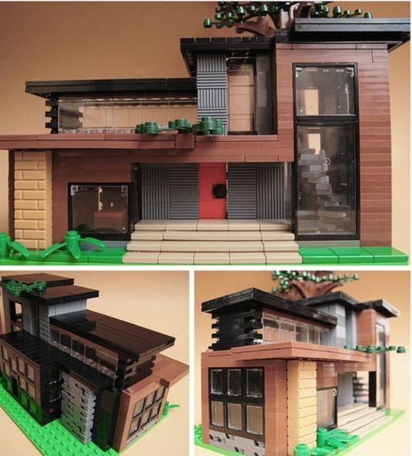 lego modern house lego pinterest lego lego haus und ForModernes Lego Haus