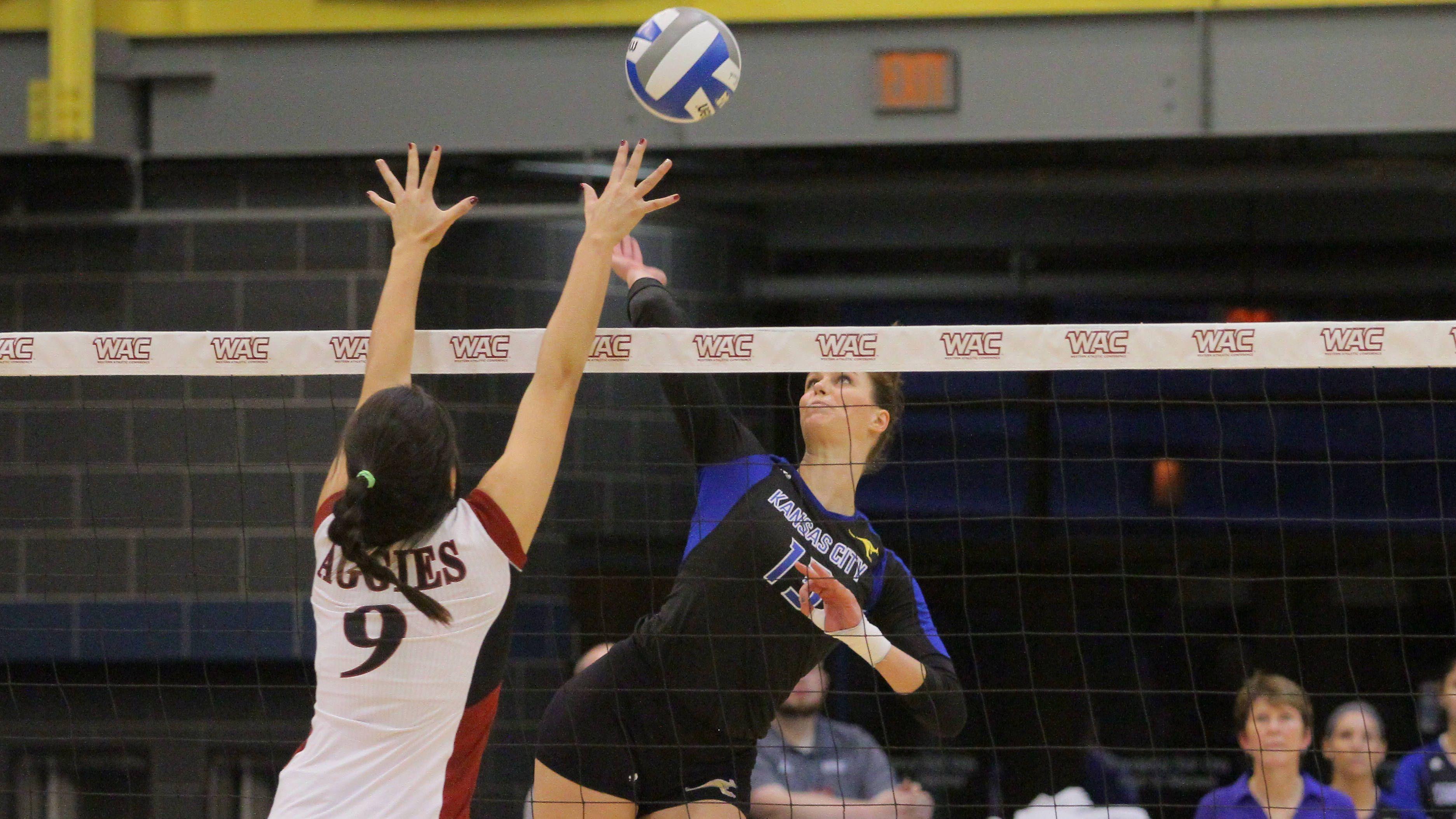 Roos Season Comes To A Close In Wac Semis Umkc Athletics Volleyball News Athlete Seasons