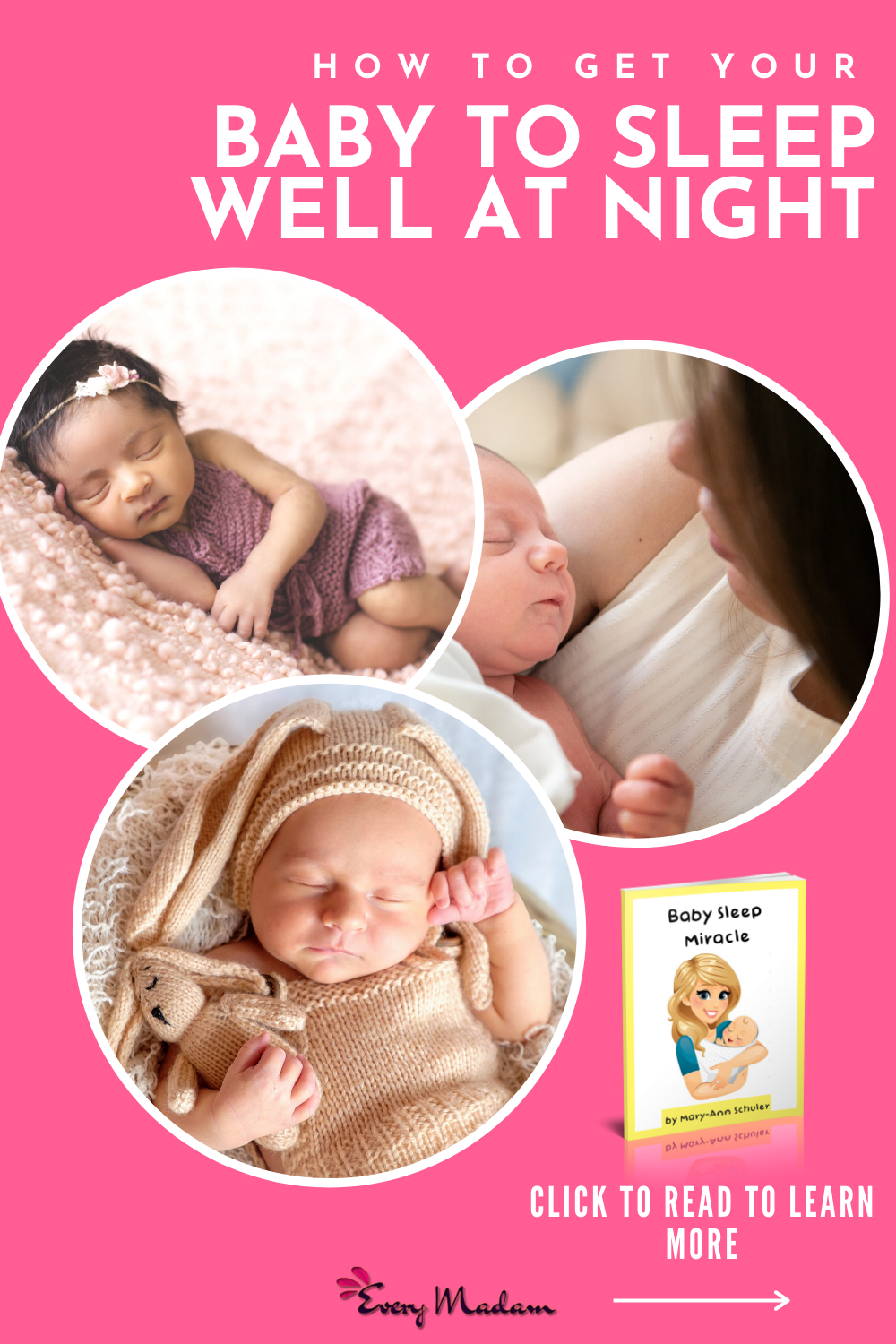 Baby Sleep Miracle Review Does This Really Get Baby To Sleep Every Madam In 2020 Newborn Baby Tips Baby Sleep Eye Care Health