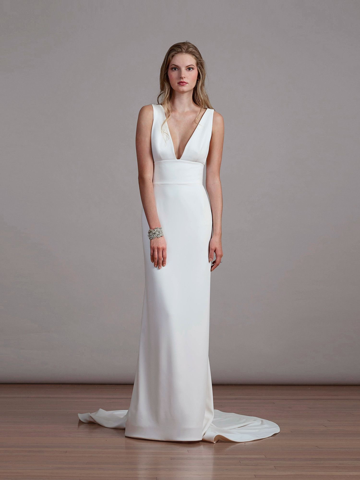 Simple Wedding Dresses That Are Just Plain Chic | Wedding dress ...