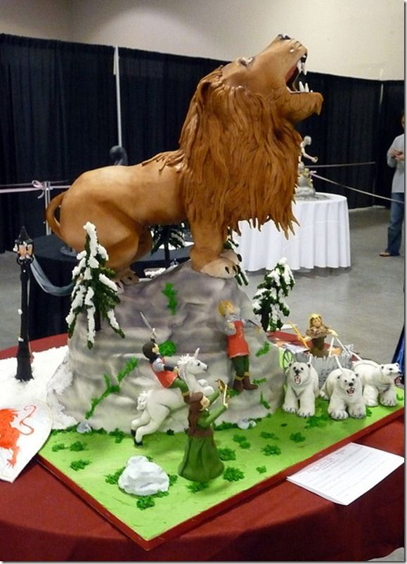 Narnia Cake Toppers