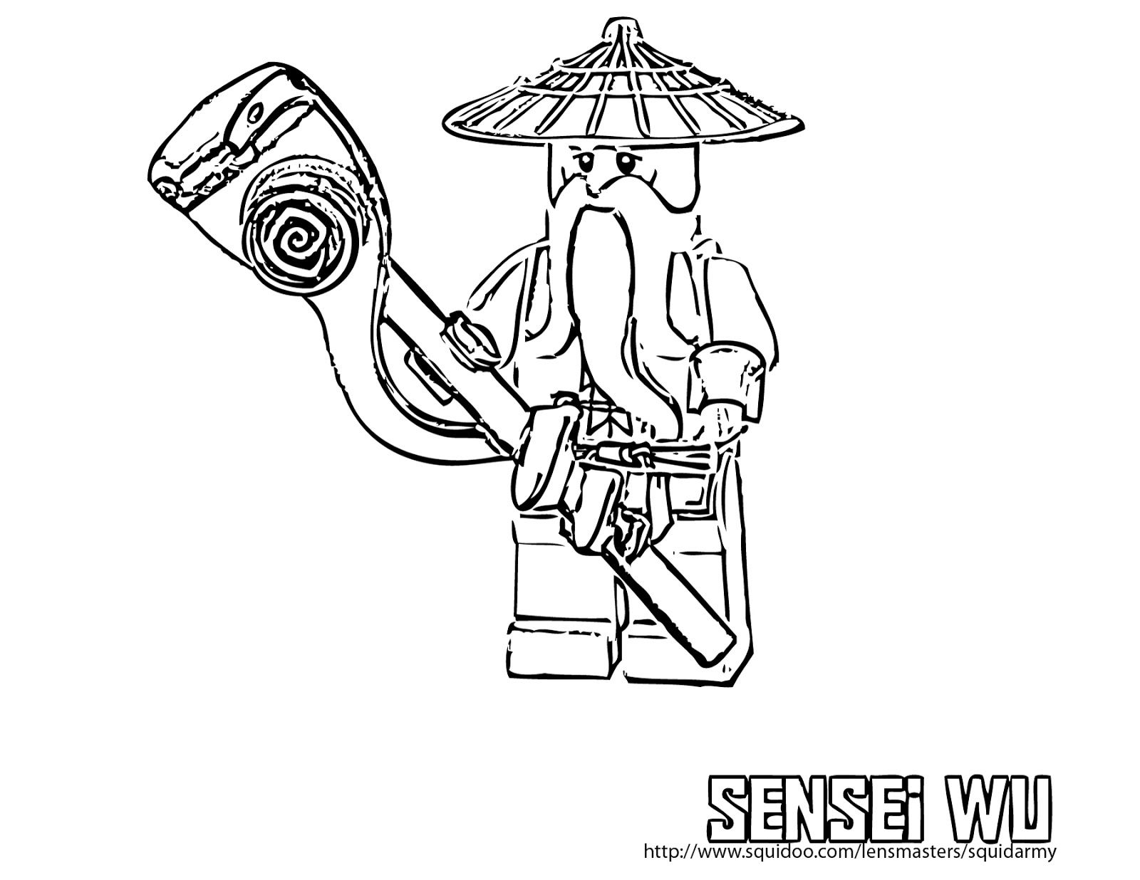 All Ninjago Coloring Pages