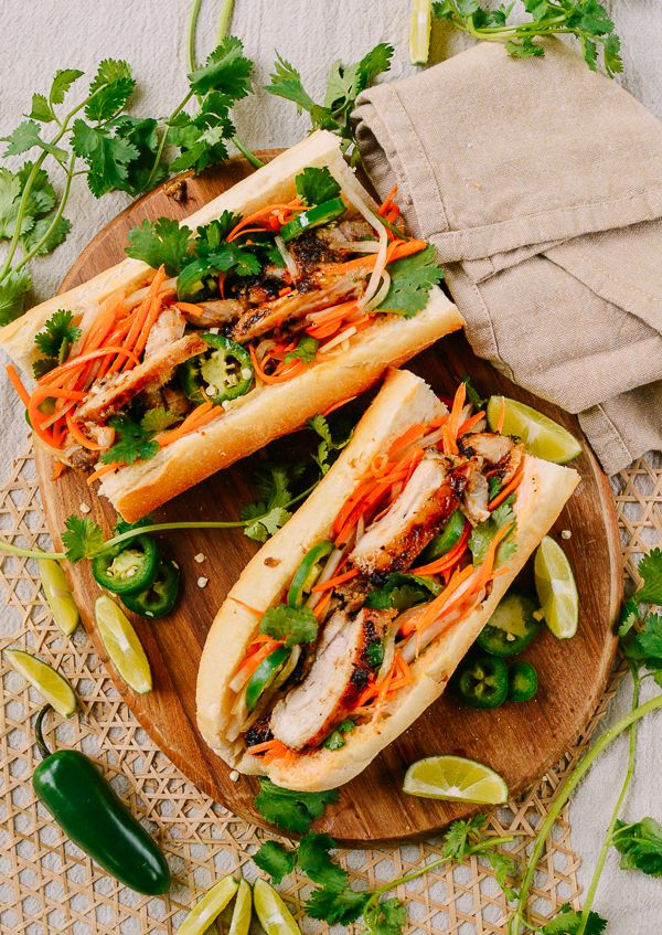 Lemongrass Chicken Banh Mi images