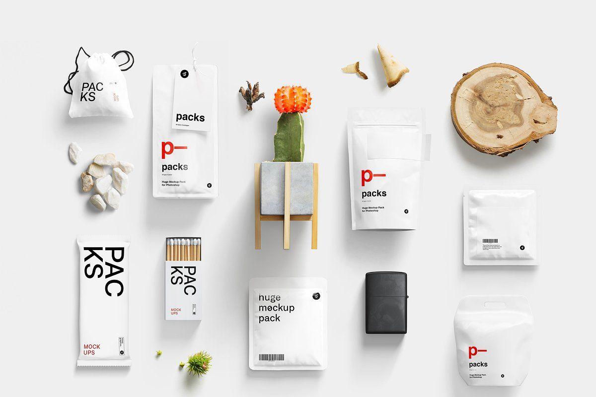 Packs Mockup Bundle BPK (с изображениями)