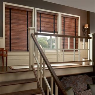 Graber Traditions Wood Blinds With Cloth Tape For Added Customization