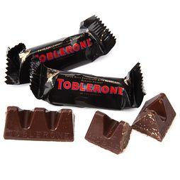 Toblerone Dark Chocolate Minis 7 Ounce Bag Toblerone