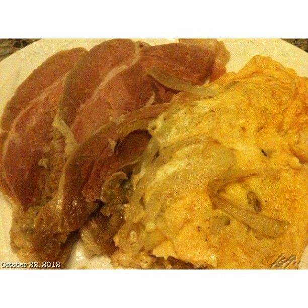 #おつまみ#ハム#たまご #appetizer#ham#egg#onion#food#philippines#フィリピン