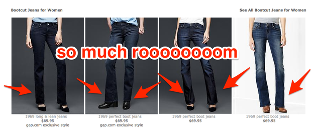 GAP HAS BOOTCUT JEANS AGAIN. | Skinny Jeans Are Officially Over