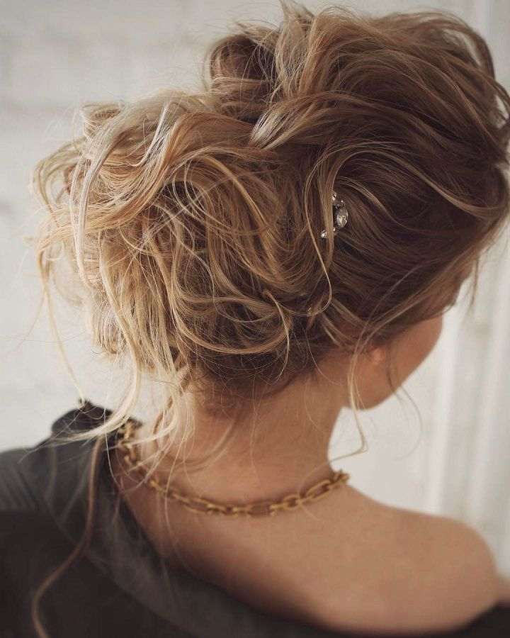Drop-dead gorgeous loose messy updo wedding hairstyle - Best recipes ...