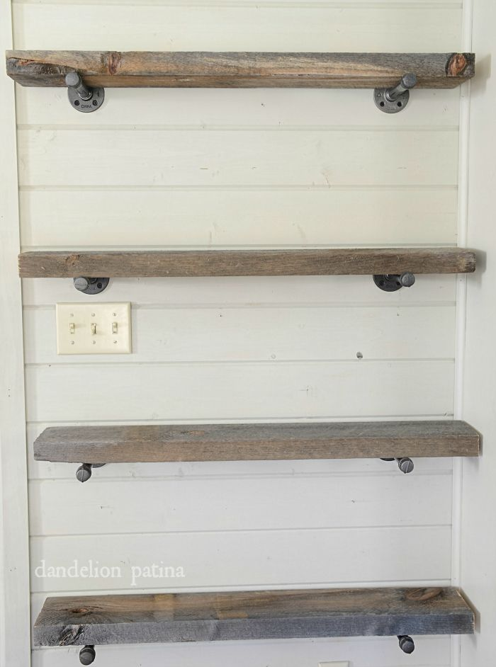 Diy Industrial Pipe Shelving Pipes Industrial And House