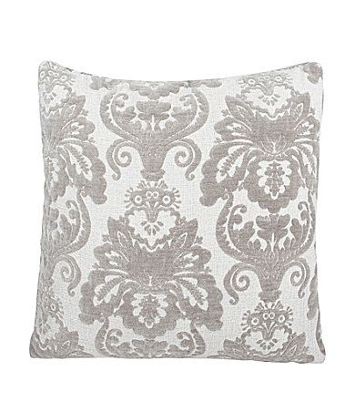 Home Fashion Zenana Dove Oversized Damask Decorative Pillow Enchanting Dillards Decorative Pillows