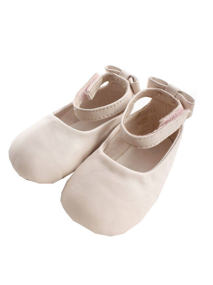 4c4425307af Chloe Kids baby girls pale pink leather ballerina shoes---super cute ...