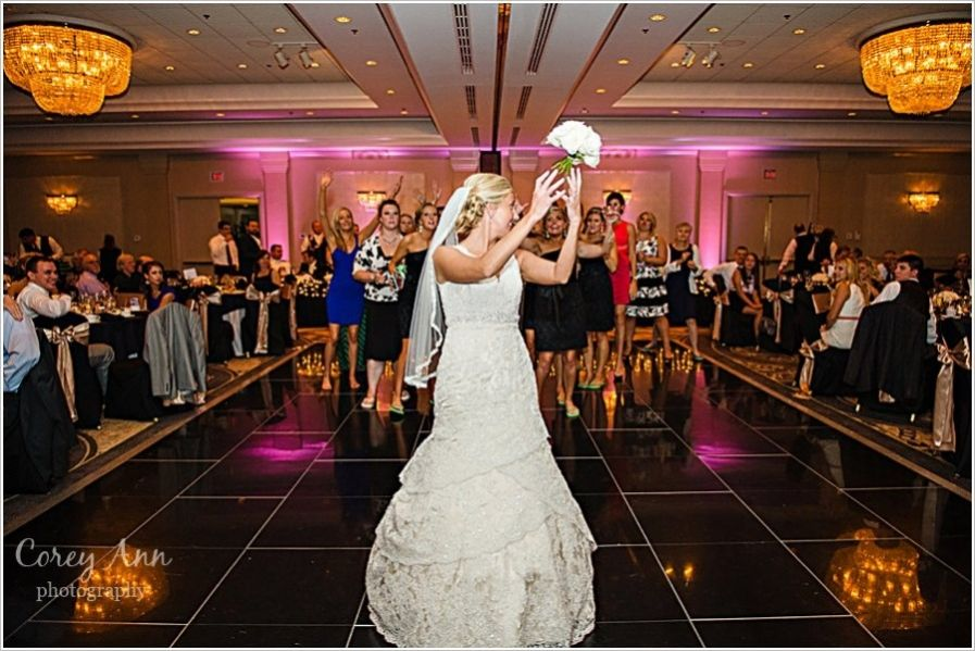 outdoor wedding ceremony sites in akron ohio%0A Kelly and Eric u    s wedding at Sheraton Suites in Cuyahoga Falls  OH