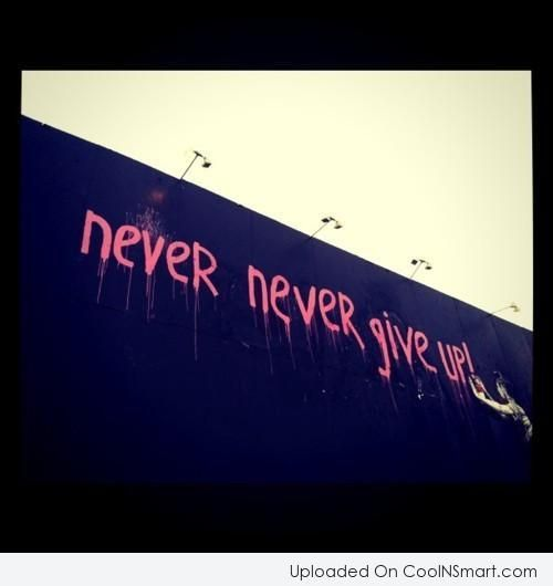 Perseverance Quote: Never never give up! | Life quotes to ...