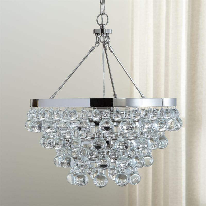 Lure Polished Nickel Chandelier Home