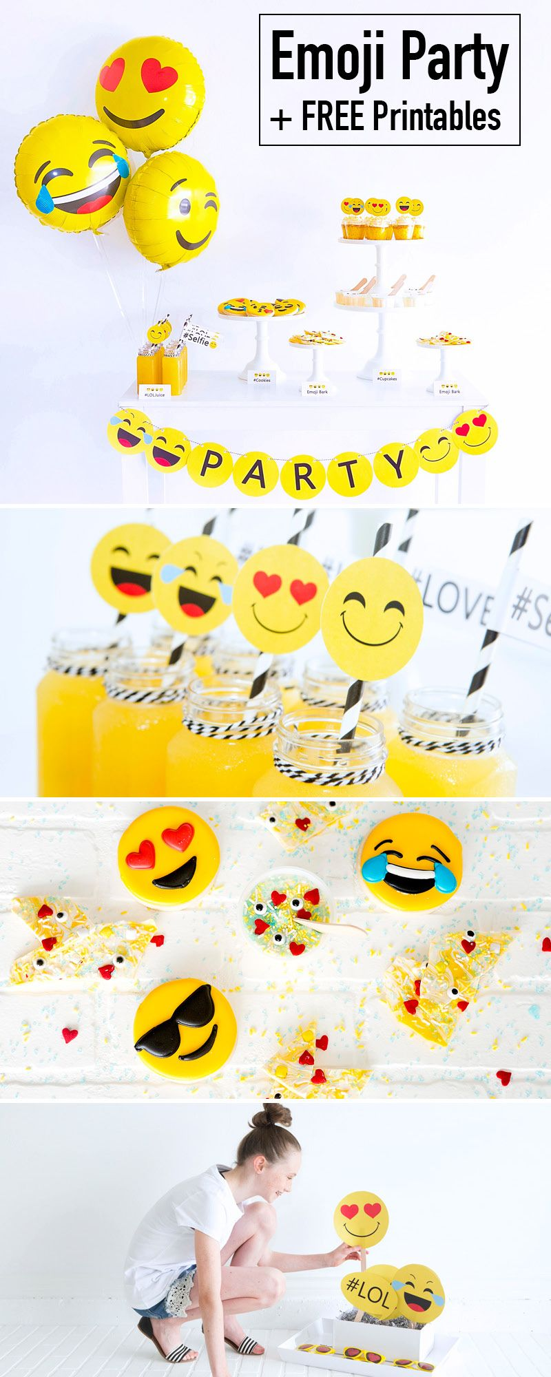Emoji Party Printables Emoji Ideas Taylyn Birthday Sleepover