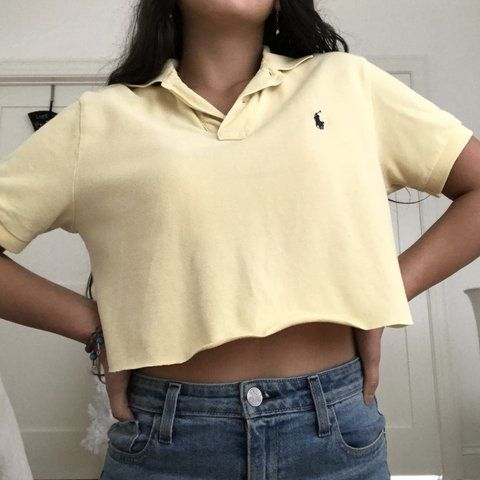 Photo of Cropped Polo Shirt