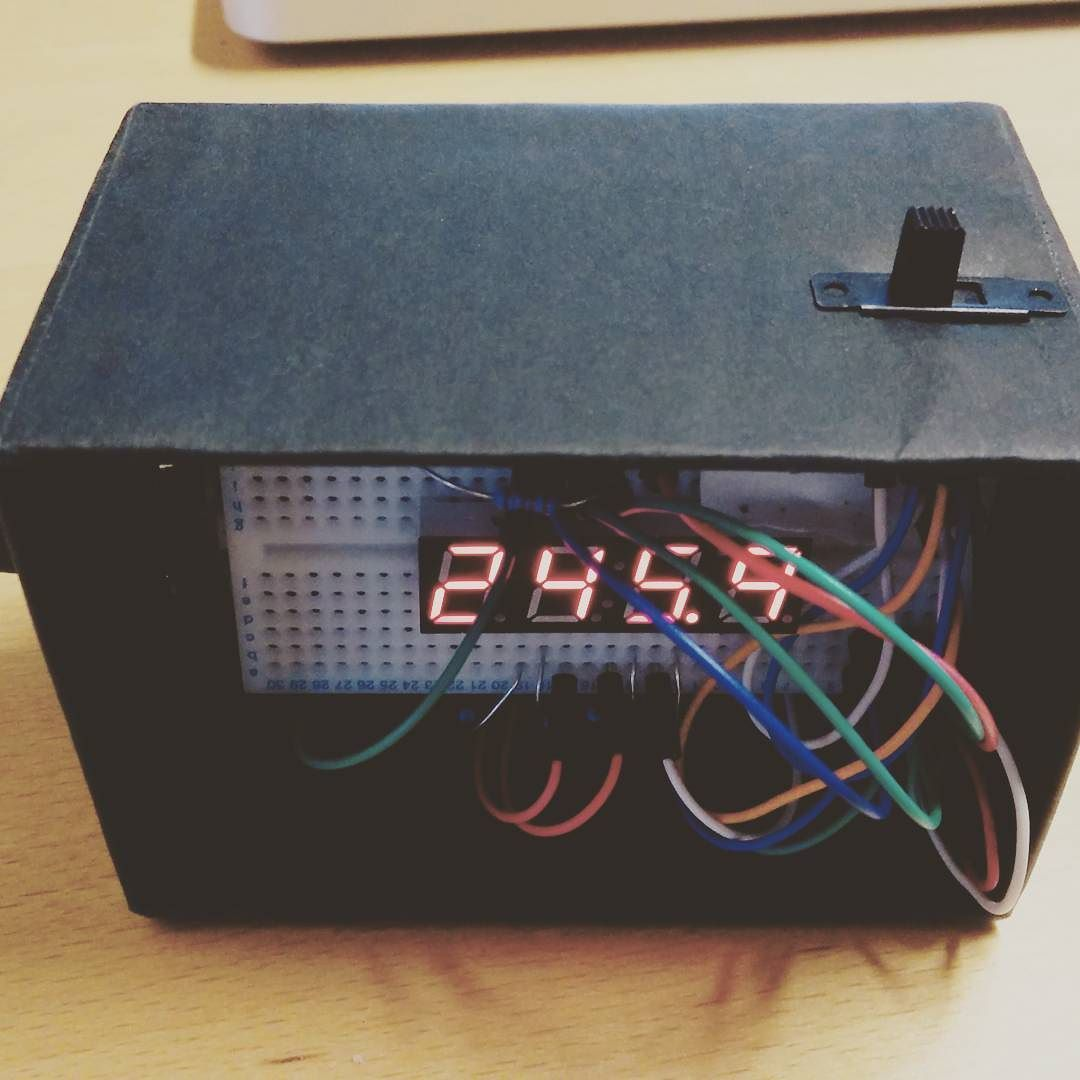 TIMEBOX // Desk pomodoro timer prototype v2 (25 min work 5 min break) #productivity #arduino by harry.hutton