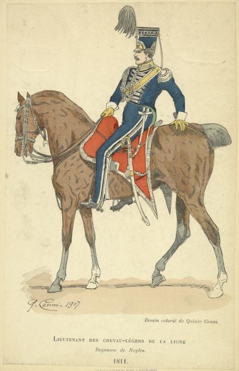 Lieutenant Chevau-Legers 1811