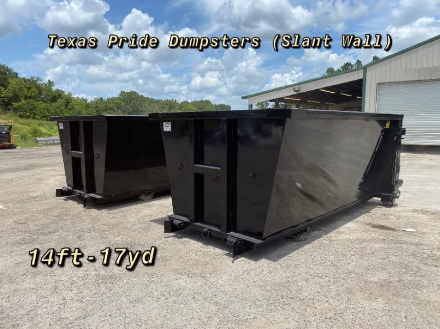 We Manufacture Containers For Waste Management This Includes Roll Off Containers Dumpsters Hoppers Balers Or Compac In 2020 Dumpsters Slanted Walls Manufacturing