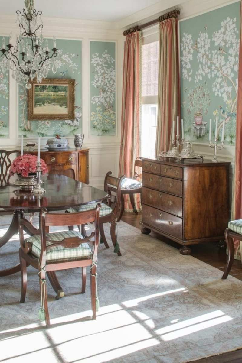 Anti Trend Month In Review Traditional Dining Rooms Traditional