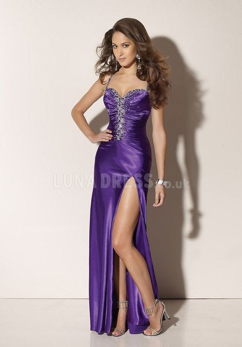Long Evening Dresses,Sexy Evening Dresses,Elegant Evening Dresses,purple Evening Dresses
