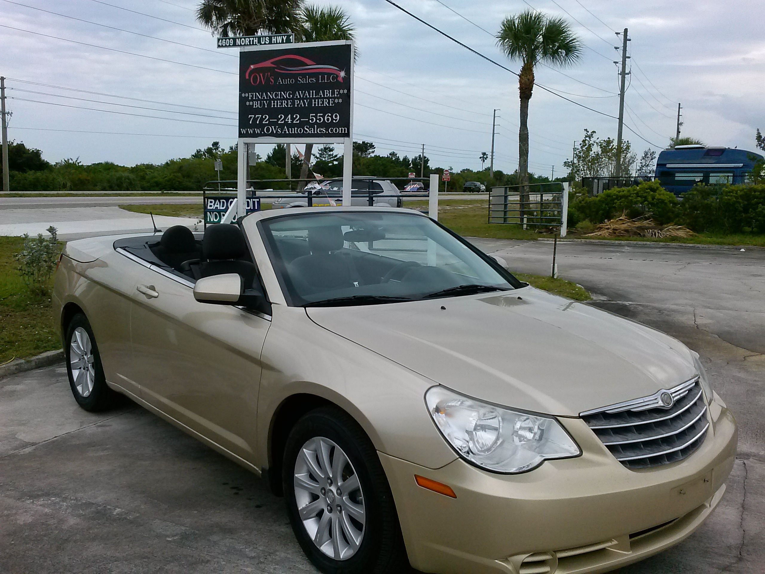 Sold Ovsautosales Chrysler Convertible Free Carfax Report Mileage 103 303 Excellent Condition Very Clean Down Cars For Sale Chrysler Sebring Chrysler