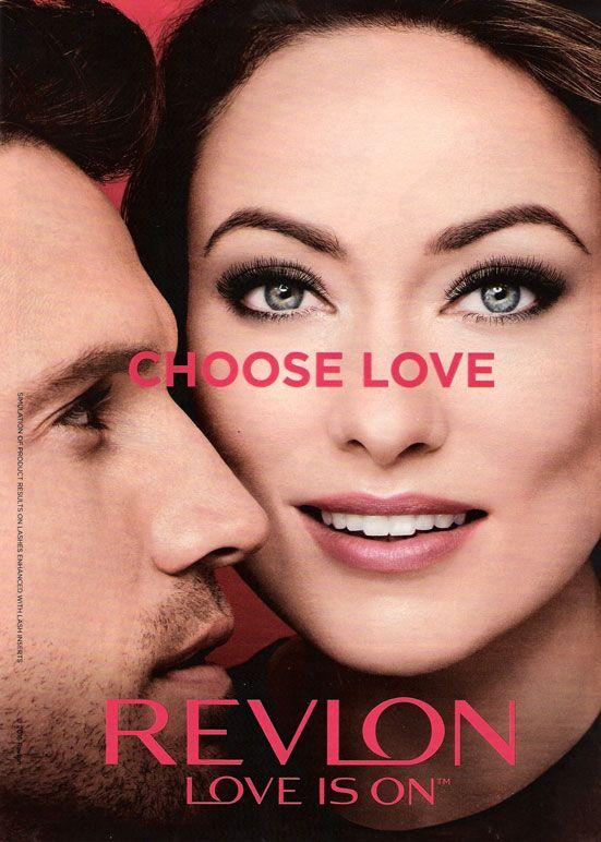 olivia wilde revlon love is on celebrity endorsements