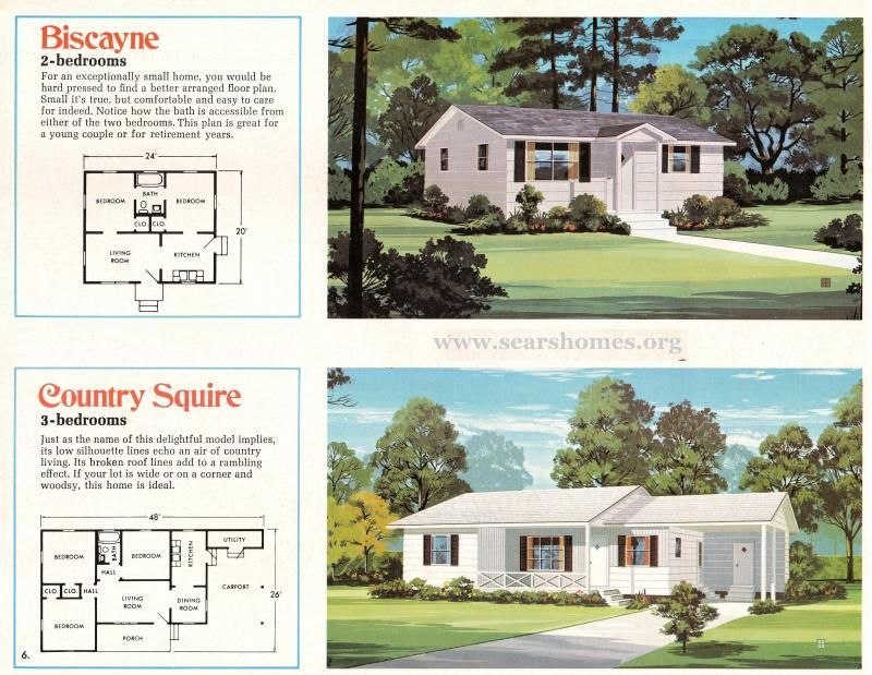Jim Walter Homes A Peek Inside The 1971 Catalog Sears Modern Homes Cottage House Plans New House Plans Types Of Houses