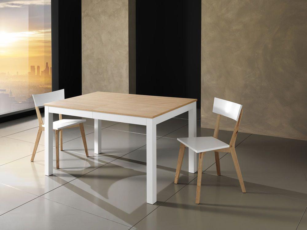 Tavolo Bull Wood Woodline 1725 Allungabile Legno Massello Bianco Opaco Tomasucci Table Home Decor Dining Table
