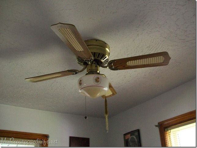 Painting A Ceiling Fan My Repurposed Life Rescue Re Imagine