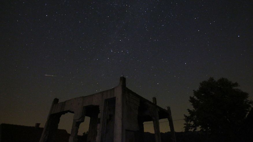 Stargazers in the northern hemisphere enjoyed the oldest meteor shower known to Earth in August 2015. The annual Perseid shower occurs when pieces of comet Swift-Tuttle hit Earth's atmosphere at more than 133,000 mph and burn up. Here are some stunning images of the 2015 Perseid meteor shower.