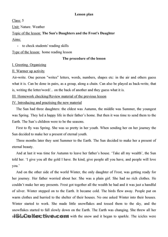 Home Reading Lesson | Для уроков | Pinterest | Weather seasons ...