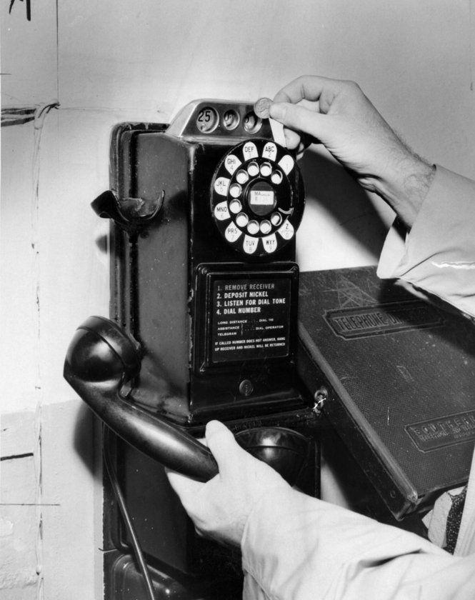 Pay phone | Call Me @ Pennsylvania 6-5000 | Phone, Telephone