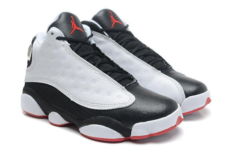 Air Jordans Noir Mariage Rouge Et Blanc