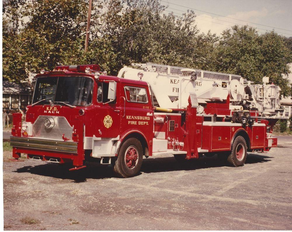 keansburg fire dept 1973 1984 mack cf baker aerialscope ex fdny