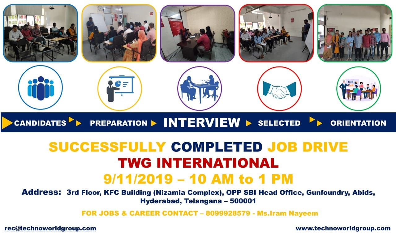 Successfully Completed Jobdrive Twginternational 9 11 2019 10