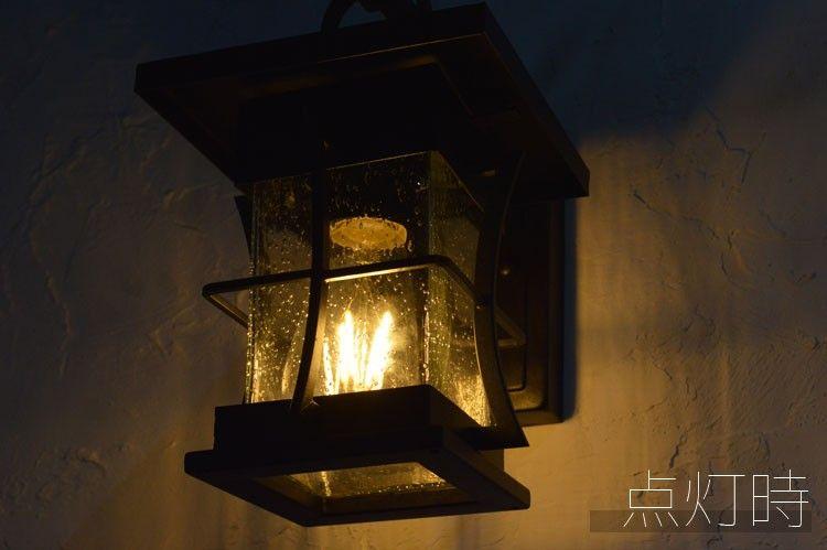 和風モダンポーチライト 外灯 玄関灯 壁 照明 門灯 表札灯 ウォール