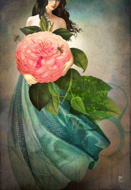 Poster | THE FAVORITE FLOWER von Christian Schloe