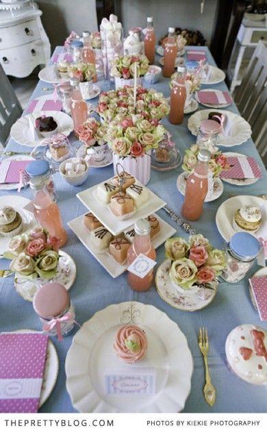 Tea Party Bridal Shower Inspiration Tea Party Bridal Shower Bridal Tea Party Tea Party Decorations