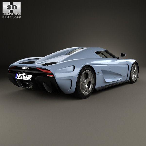 Koenigsegg Concept Cars: 3D Model Of Koenigsegg Regera 2015