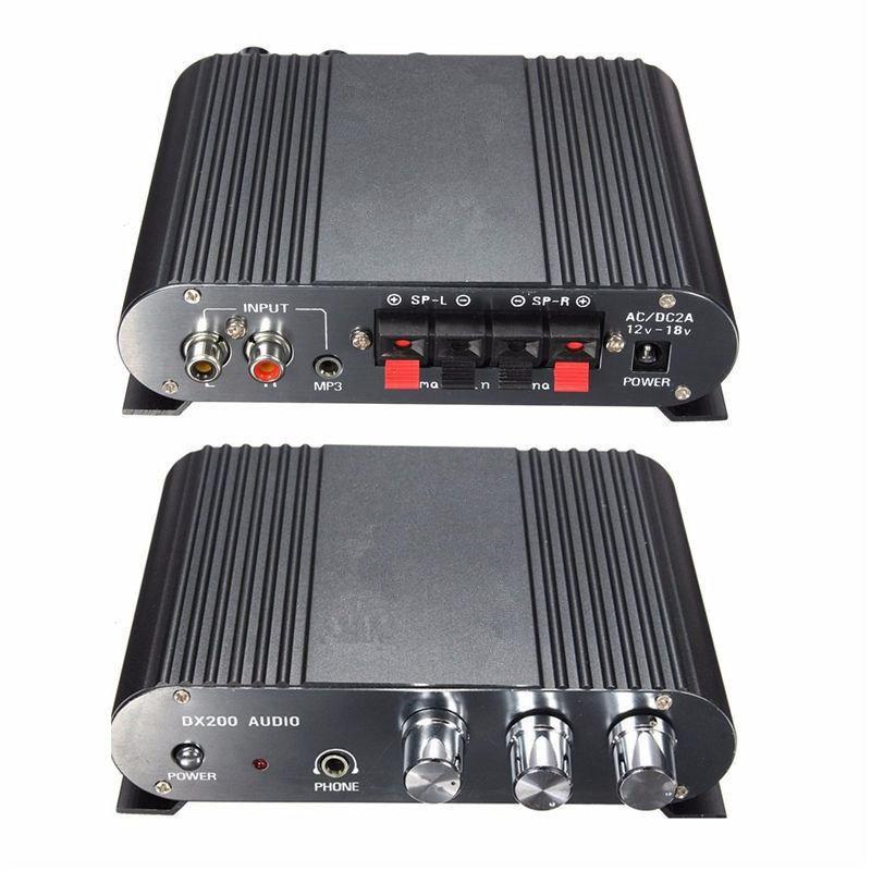 12v mini hifi stereo amplifier 21ch booster car auto