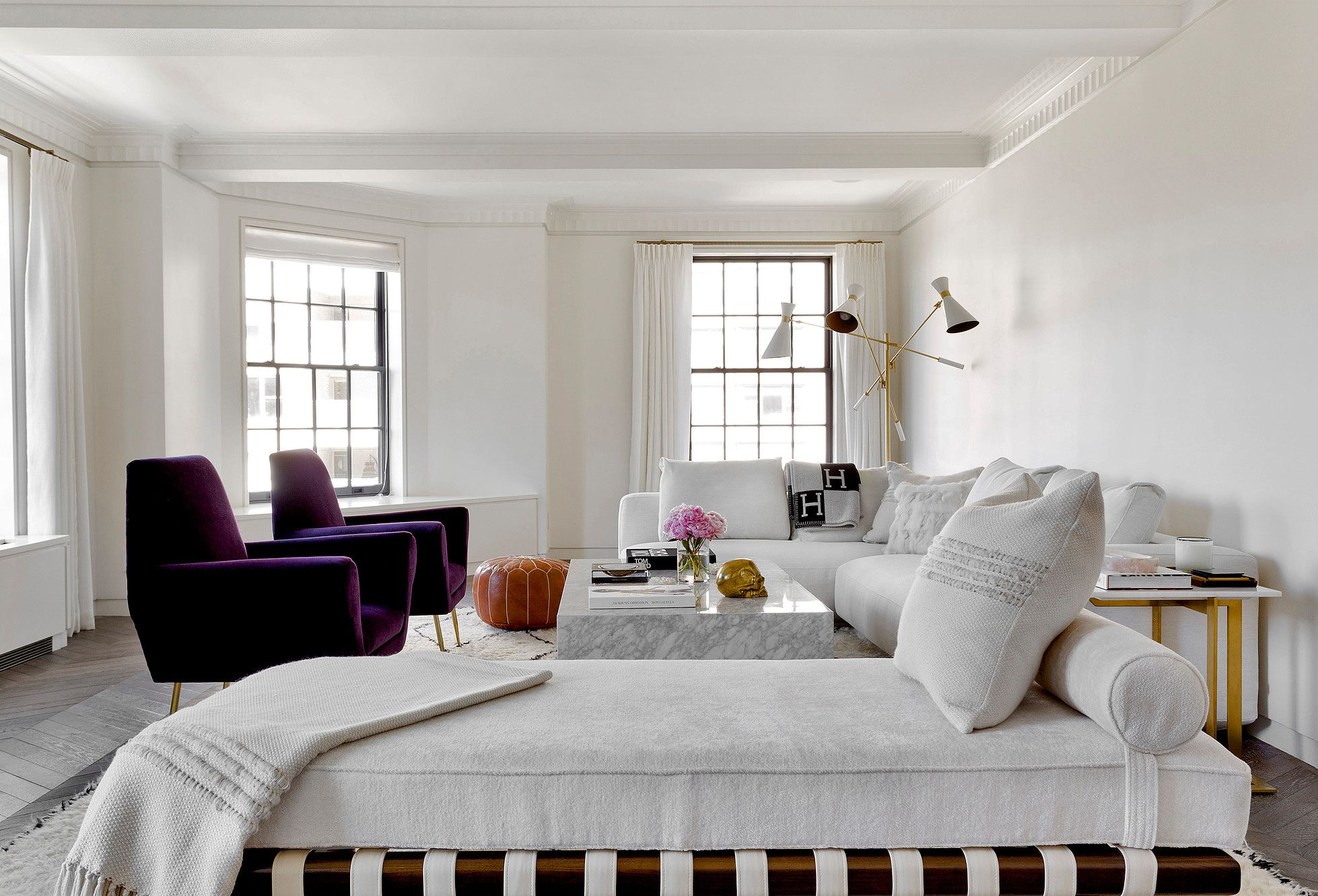 Tamara Magel Living Room One Fifth | INTERIOR SPACES: RESIDENTIAL ...