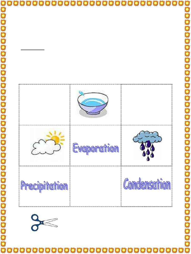 small resolution of 3rd Grade   Water Cycle Worksheet   Water cycle worksheet
