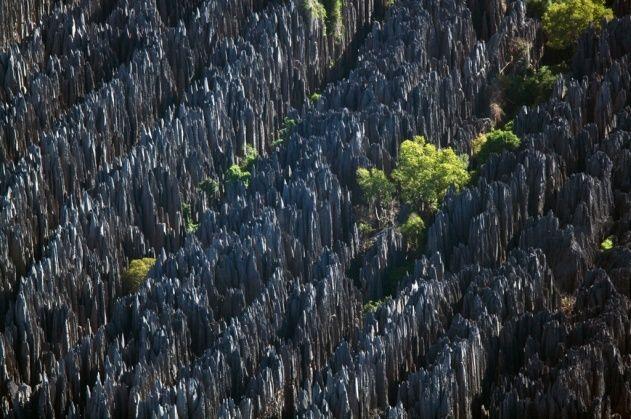 YannArthusBertrand2.org - Fond d écran gratuit à télécharger    Download free wallpaper - Tsingy de Bemaraha, région de Morondava, Madagascar (18°47'S – 45°03'E).