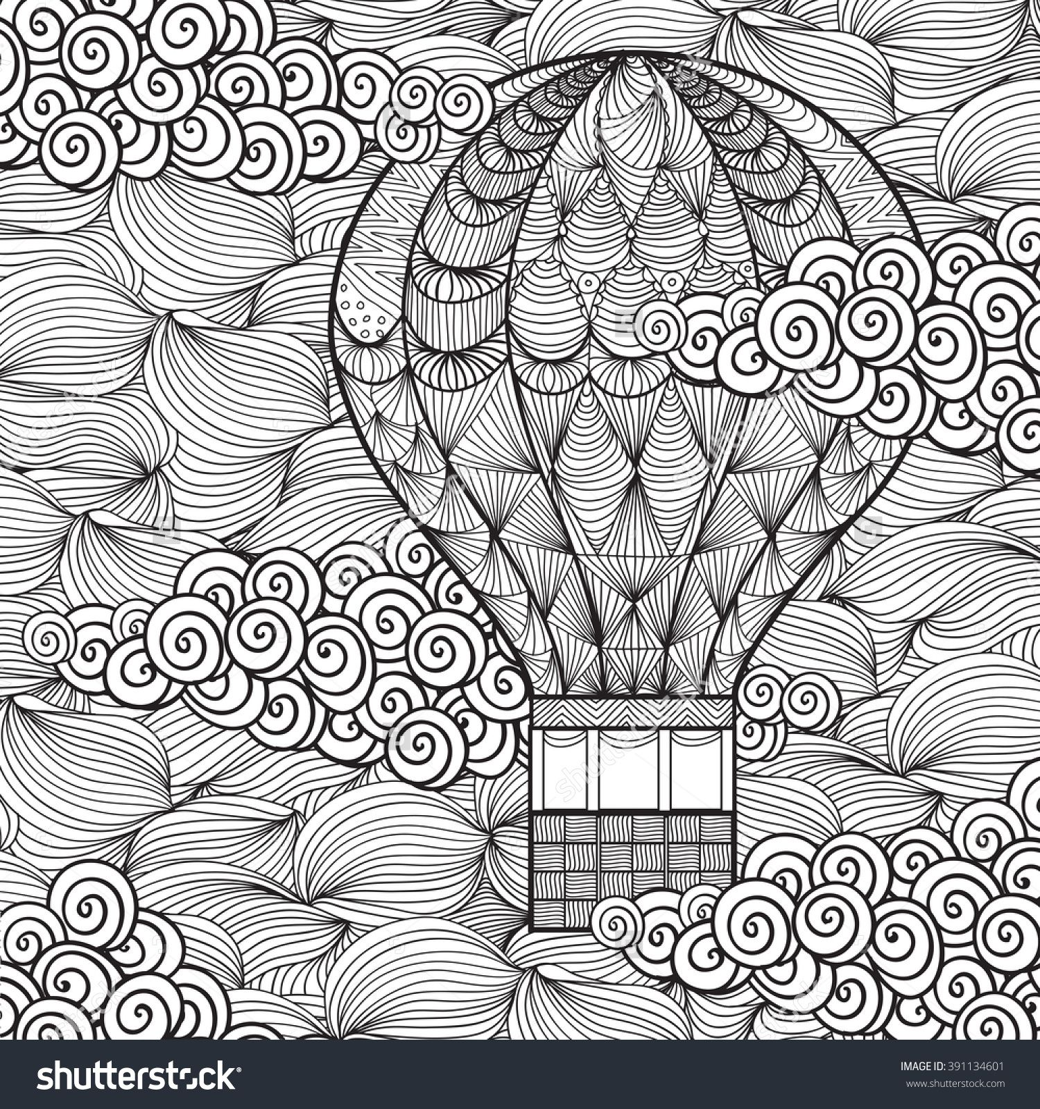 Printable Cloud Coloring Pages For Kids   1600x1500